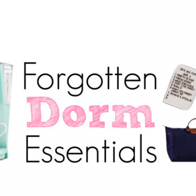 Forgotten Dorm Essentials: What I Wish I Brought